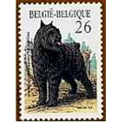 Bouvier Belgian Postage Stamp